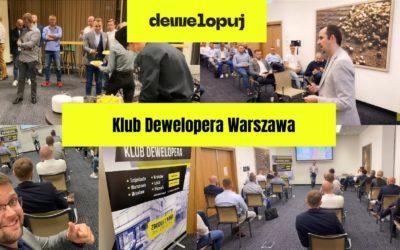 Spotkanie klubu dewelopera Warszawa